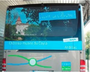 les musees s affichent en bus 29  juillet 2013