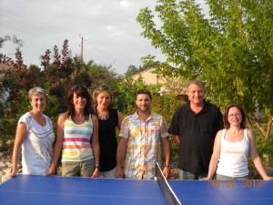 tennis table Graulhet bureau 2013