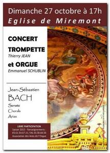 Concert Trompette et Orgue Miremont 27.10.2013.m