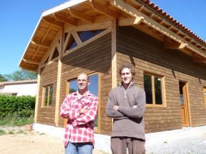 Frederic Mauries batisseur de maisons en bois