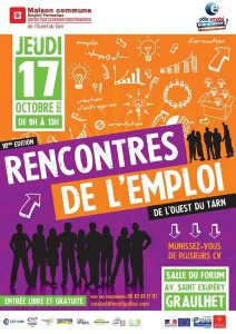 MCEF ouest Tarn Graulhet rencontres emploi 17 oct 2013