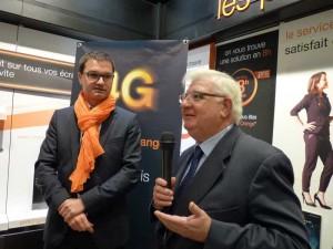 Orange 4G Castres b 22 nov 2013 JC Arguillere et H Pistre