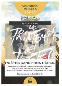 Affiche soiree Briatexte PSF 21 mars 2014
