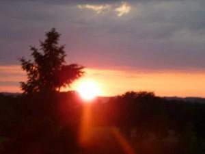 coucher soleil  Deux pins dim 2 juin 2013 002