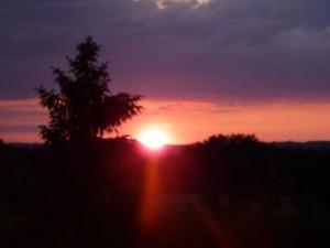 coucher soleil  Deux pins dim 2 juin 2013 005
