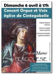 ESchublin40e Concert Orgue Cintegabelle 06.04.2014