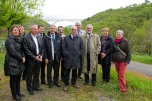 Visite chantier Viaduc du Viaur