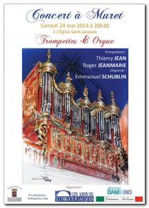 Concert Trompettes & Orgue Muret 24.05.2014.m