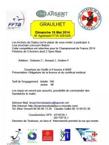 concours Archers Dadou 18 mai 2014