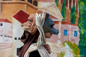 loup chien nuit musees archeosite Montans  17 mai 2014