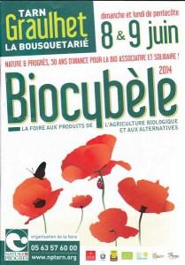 Biocybele 8 et 9  juin 2014