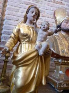 Marche du Gers 30 e 058 Soyez positifs c est contagieux pape françois pour Lorette