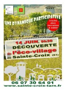 eco village Ste Croix 14 juin 2014 1