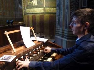 ordination 29 juin 2014  Frederic deschamps organiste