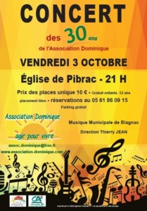 Concert30AnsPIBRAC3oct2014