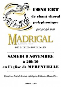 concertchantchoral8nov2014LislejourdainMadrigal