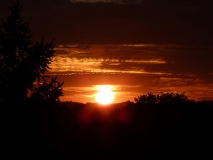 Les Deux Pins Coucher de soleil lundi 2 juil 2012 032