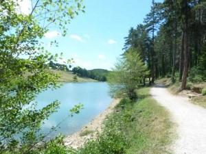 Lac de Nabeillou et ND des Vignes 21 juillet 2012