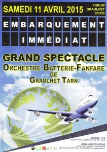 concert OBF Graulhet 11 avril 2015