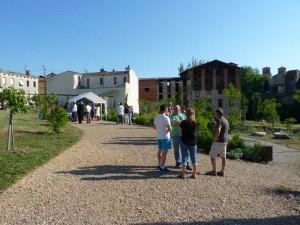 Inauguration Graulhet jardin St Jean 4 juin 2015 011