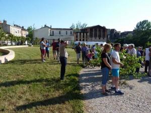 Inauguration Graulhet jardin St Jean 4 juin 2015 023