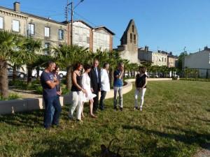 Inauguration Graulhet jardin St Jean 4 juin 2015 059