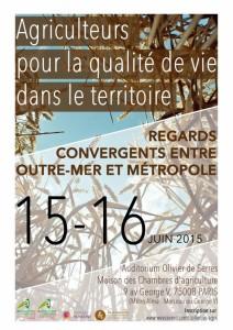 ecologie humaine agriculture congres Paris 16 et17 juin 2015