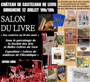 2015 Salon LIVRES CastelnauLevis SAM présente