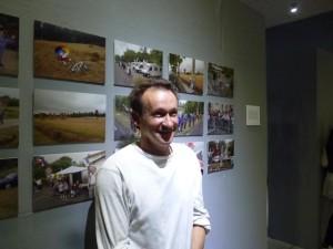 Jean Mazelier Vernissage  Cagnac 24 oct 2011 Tour de France