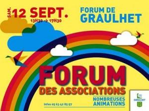 forum asso Graulhet 12 sep 2015