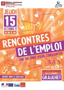 Graulhet rencontres emploi 15 oct 2015 a