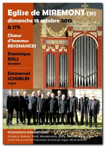 concert miremont 18 oct 2015