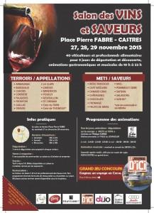 Vins et saveurs Castres 27 28 et 29 nov 2015