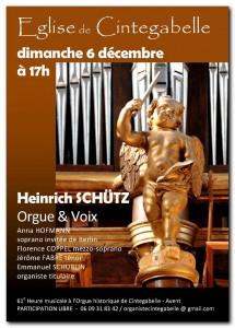 concert schutz 6 dec 2015 Cintegabelle