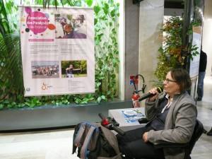 Pascale Berly, représentante départementale de l'Association des Paralysés de France (2)