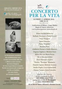 Locandina Concerto per la Vita DEF MIN milano 11 avril 2016