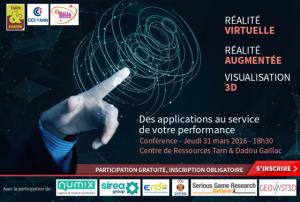 conference T et D La realite augmentee 31 mars 2016