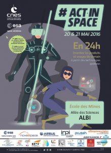 Actinspace2016affiche