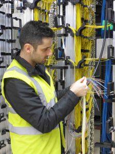 Visuel Câble de fibres