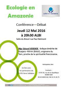 conf Mgr Verdier 12 mai Albi s du Breuil 20h30