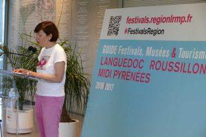 Carole DELGA guide festivals LRMP 21 juin 2016 (1)
