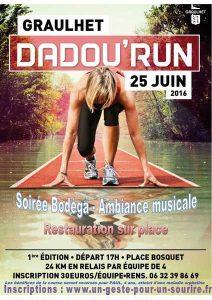 nouvelle affiche Dadou Run 25 juin 2016