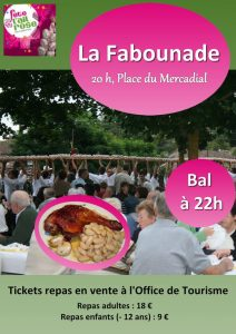Lautrec La fabounade fete ail rose 5 aout 2016